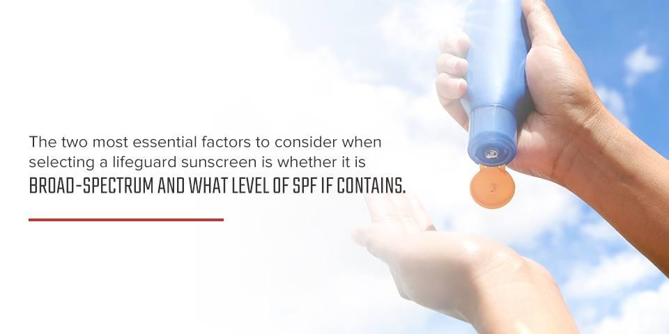 Broad-Spectrum SPF Sunscreen