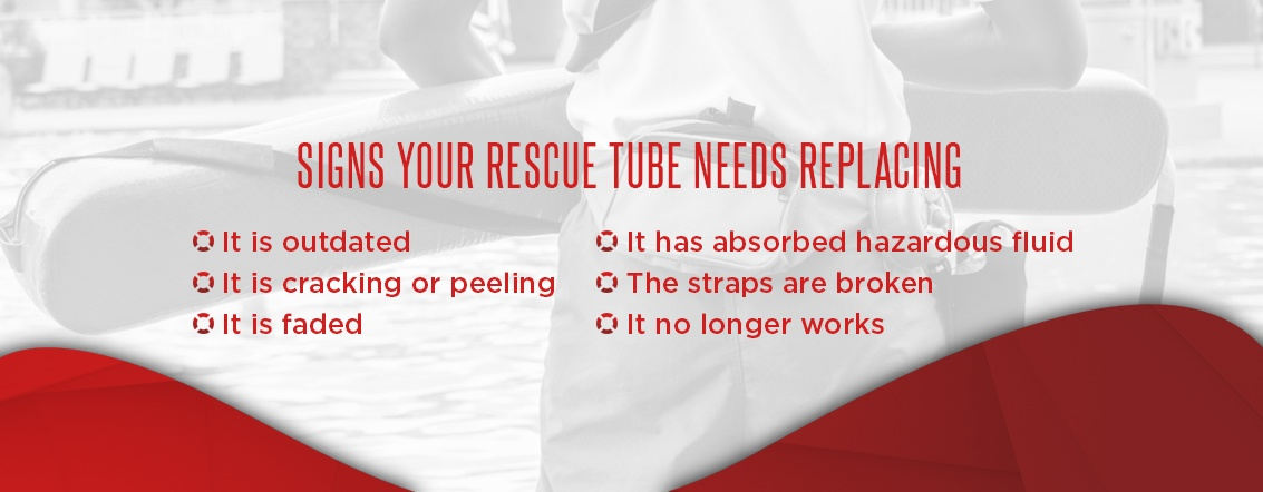 Signs Your Rescue Tubes Needs Replacing