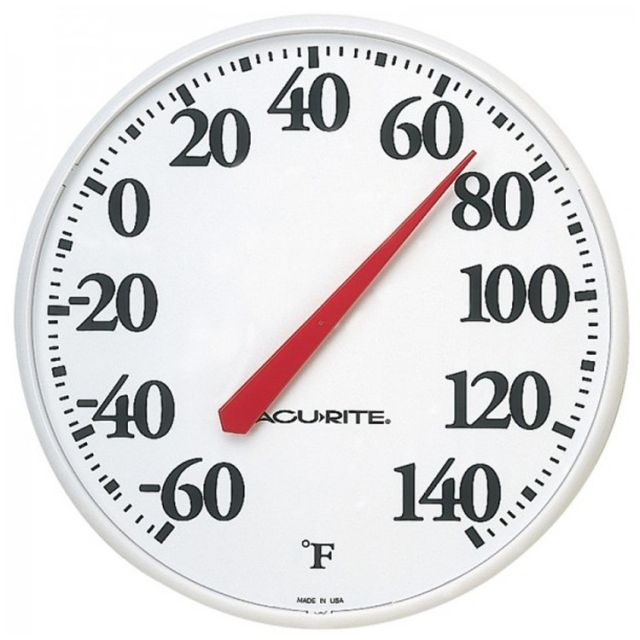 """12.5"""" Wall Thermometer"""