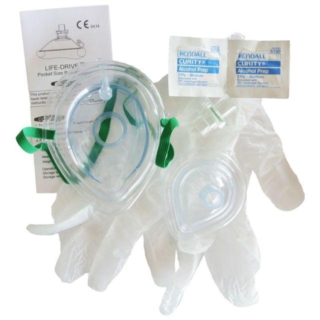 Adult/Infant Pocket Mask Kit without Case