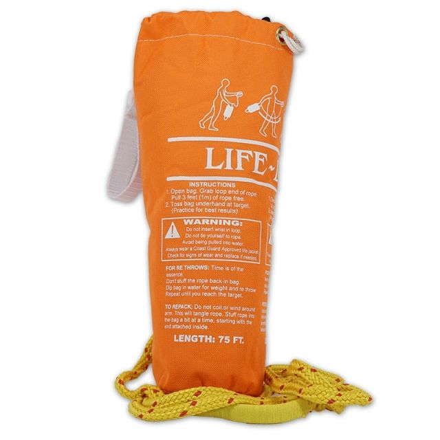 75 Foot Safety Throw Bag
