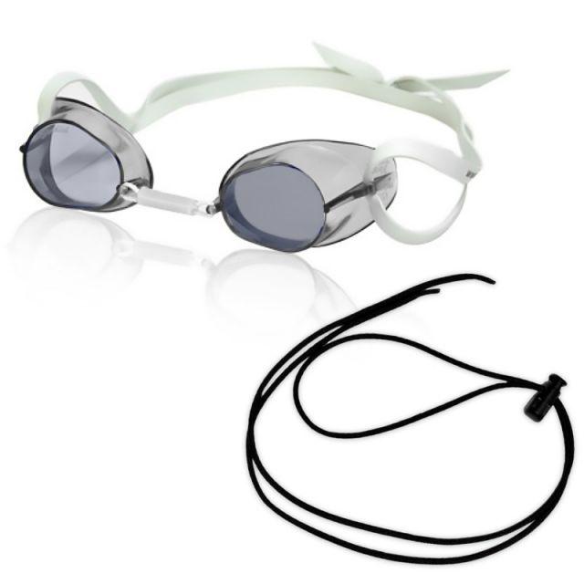 RISE Swedish Pro Mirrored Goggle w/ Black Bungee