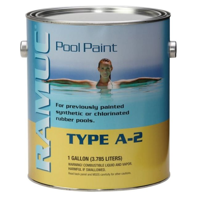 Ramuc Type A-2 Rubber Based Premium Pool Paint 1-gallon
