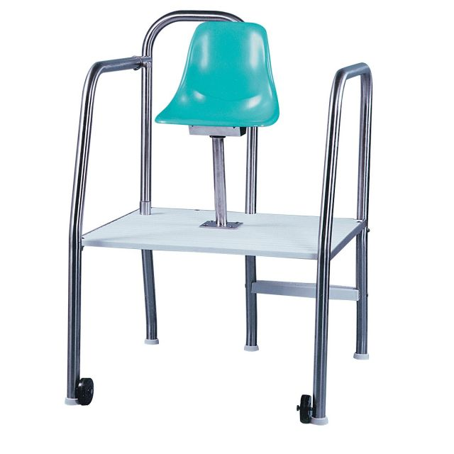 Paragon 2-step Lookout Chair w/ wheels