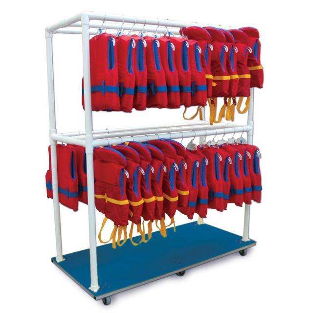 Vest Storage Cart