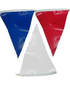 100 ft. Polyethylene Flags-Red/White/Blue
