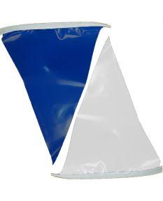 100 ft. Polyethylene Flags-Blue/White