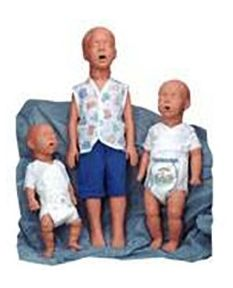 Kim Kevin or Kyle Pediatric CPR Training Manikins