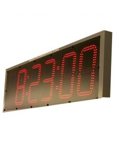 6-Digit Slim Pace Clock