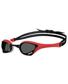 Arena Cobra Ultra Goggle-Smoke/Red/White