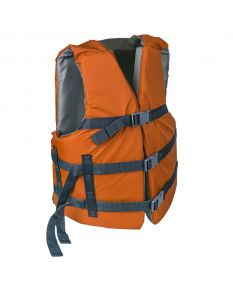 RISE Adult Life Vest-Rustic Orange-Oversize