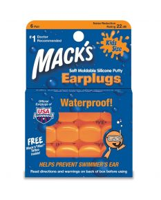 Mack's Pillow Soft Ear Plugs-Kids Size