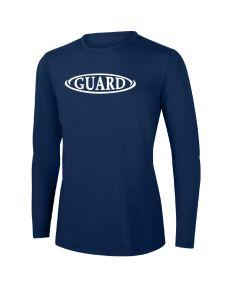 RISE Guard Long Sleeve Crew Neck Rashguard-Navy-XSmall