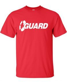 Exclusive Guard Tee-Red-Small