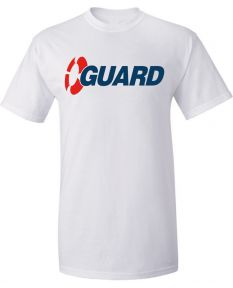 Exclusive Guard Tee-White-Small