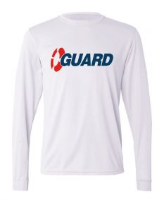 Dri-Fit Exclusive Guard Long Sleeve T-Shirt -White-Large