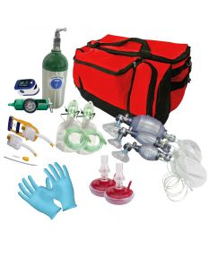 Lifeguard First Response Bag Kit-Red