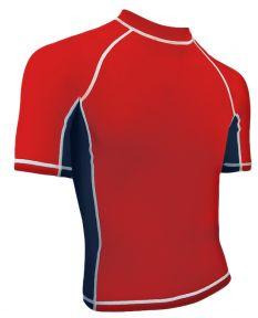 RISE Solid Short Sleeve Splice Rashguard