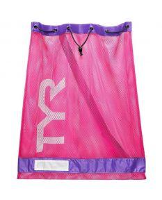 TYR Mesh Equipment Bag-Pink/Purple