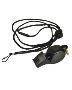 Fox 40 Eclipse Whistle Plus Lanyard-Black