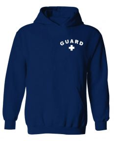 Guard Hooded Sweatshirt - Color - Navy,Size - Medium