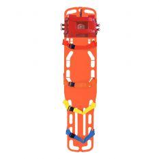 "Kiefer 16"" Rescue Spine Board W/ Head Immobilizer"
