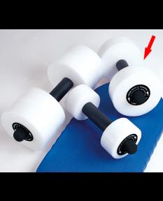 Kiefer Deluxe Foam Water Dumbbells - Medium - Pair