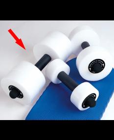 Kiefer Deluxe Foam Water Dumbbells - Large - Pair