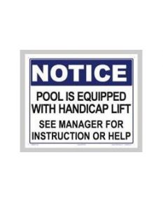 Pool Is Equipped....