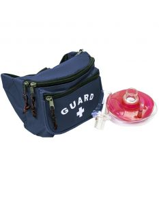Seal Rite Mask with Black Guard Hip Pack Kit-Navy