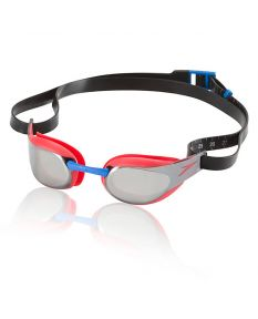 Speedo Fastskin3 Elite Mirrored Goggle-Lava Red