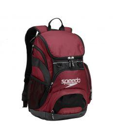 Speedo Large 35L Teamster Backpack-Burgundy-Yes