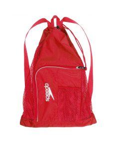 Speedo Deluxe Ventilator Mesh Bag - Color - US Heather Red