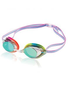 Speedo Vanquisher 2.0 Mirrored Goggle - Color - Rainbow Brights