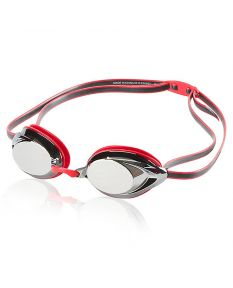 Speedo Vanquisher 2.0 Mirrored Goggle - Color - Speedo Red