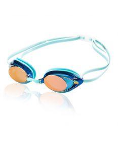 Speedo Women's Vanquisher 2.0 Mirrored Goggle - Color - Aqua