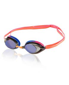 Speedo Women's Vanquisher 2.0 Mirrored Goggle - Color - Hot Coral