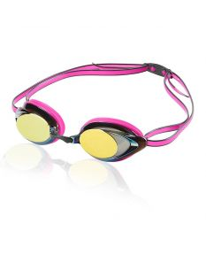 Speedo Women's Vanquisher 2.0 Mirrored Goggle - Color - Magenta