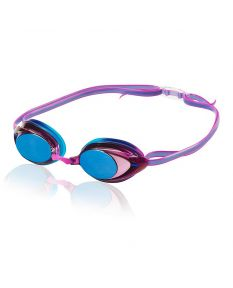 Speedo Women's Vanquisher 2.0 Mirrored Goggle - Color - Purple Dream