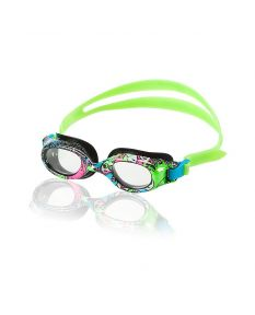 Speedo Jr. Hydrospex Print Goggle Color: Black/Black (006)