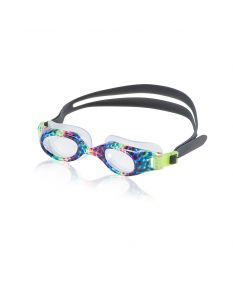 Speedo Hydrospex Jr. Print Goggles - Color - Rainbow Brights