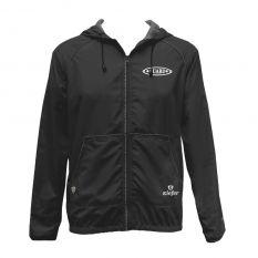 Kiefer Solid Unisex Guard Tech Jacket-Black-XSmall