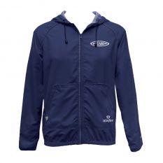 Kiefer Solid Unisex Guard Tech Jacket-Navy-XSmall