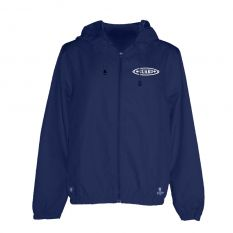Kiefer Solid Unisex Guard Outerwear Jacket-Navy-XSmall
