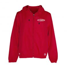 Kiefer Solid Unisex Guard Outerwear Jacket-Red-XSmall