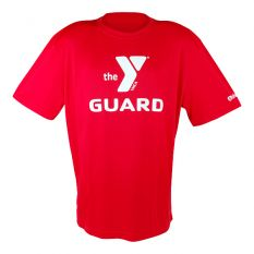 YMCA Quick Dry Men's Tech Guard Shirt