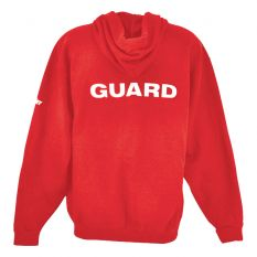 Kiefer Guard Essentials Unisex Full Zip Hoodie-Red-Small