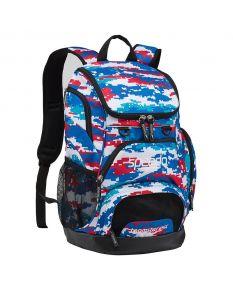 Speedo Medium 25L Teamster Backpack-Digi Camo Red/White/Blue-Yes