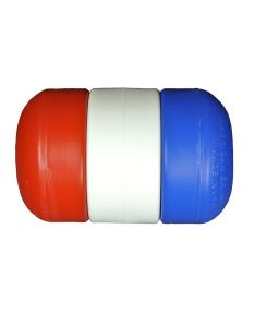 "3"" x 5"" Rope Float 1/2"" Diameter-Red/White/Blue"