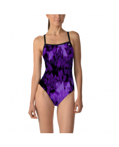 Adidas Equinox Camo Vortex Back Swimsuit